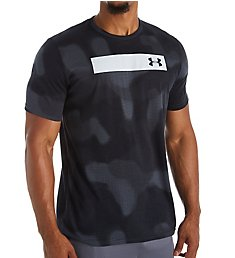 Under Armour Printed Bar Short Sleeve T-Shirt 1344233
