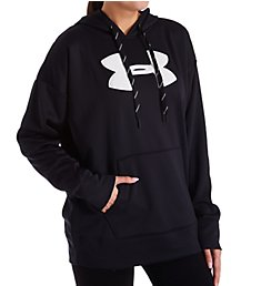 Under Armour Synthetic Fleece Chenille Logo Pullover Hoodie 1348246