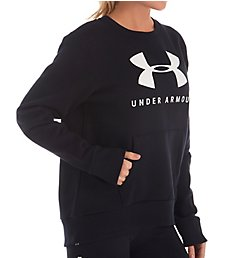 Under Armour Rival Fleece Sportstyle Graphic Crew 1349095