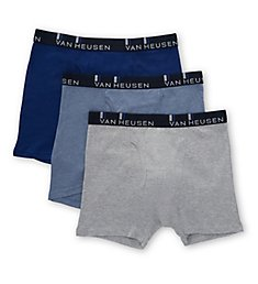 Van Heusen Daily Grind Cotton Boxer Briefs - 3 Pack 191QB02BS