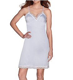 "Vanity Fair Full Slip 22"" Lace Trimmed 1010322"