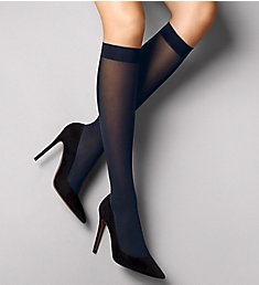 Wolford Satin Opaque Nature Knee Highs 31642